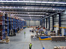 New Warehouse and Manufacturing Facilities